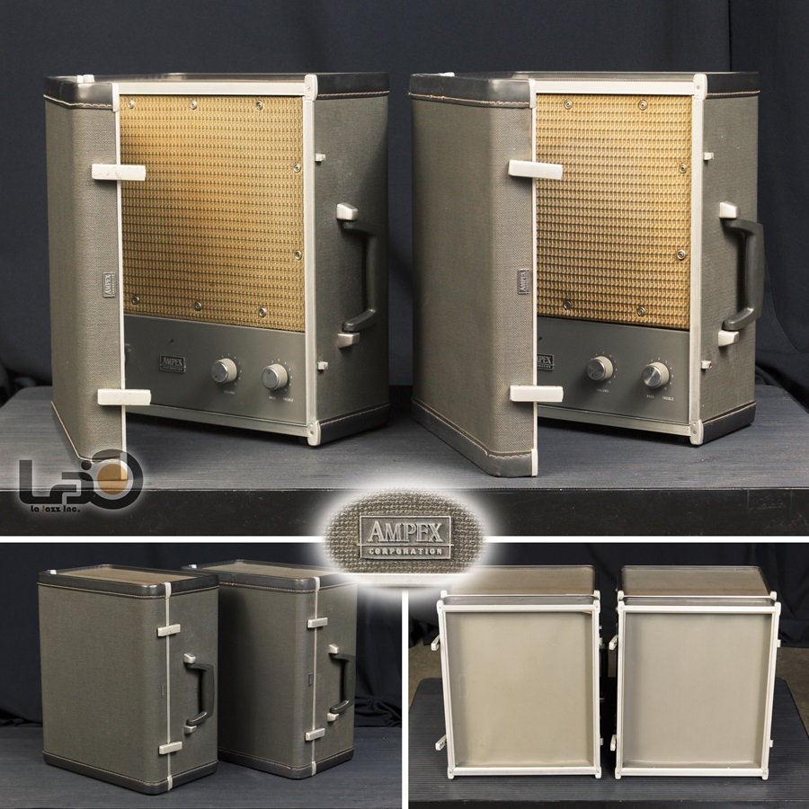 AMPEX MODEL 692 ◇ 真空管アンプ内臓スーツケース スピーカー ◇9