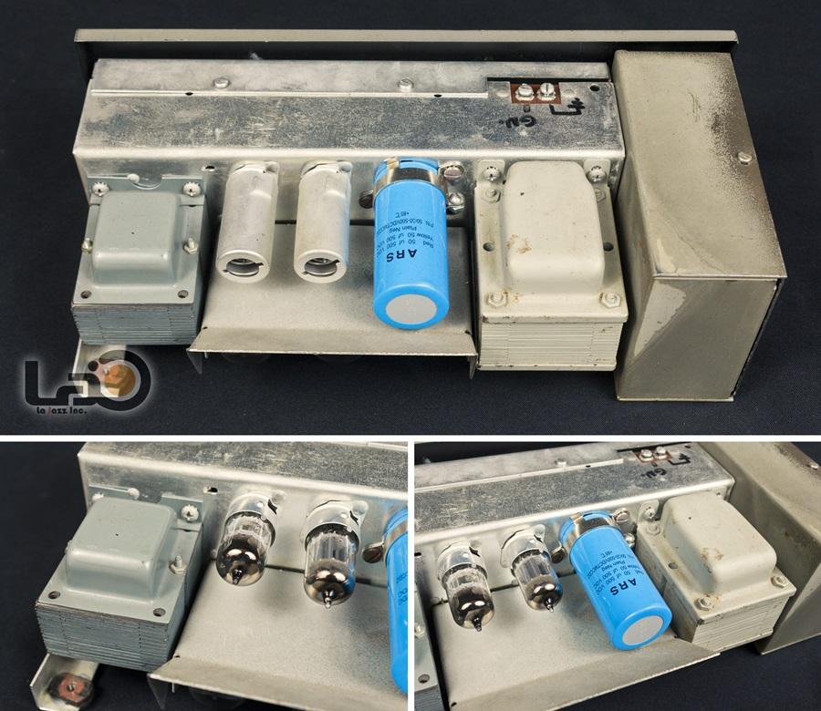 AMPEX MODEL 692 ◇ 真空管アンプ内臓スーツケース スピーカー ◇17