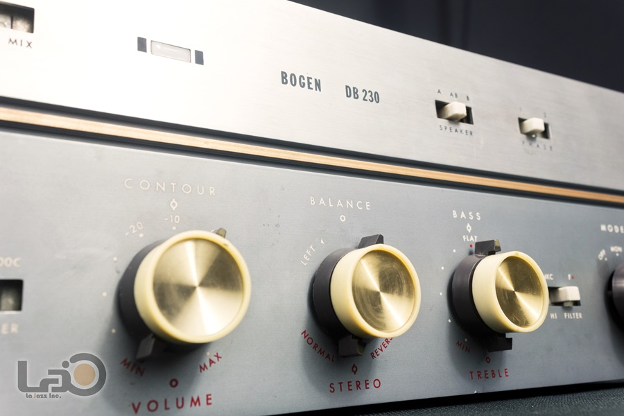 BOGEN DB230 Amplifier ◇ 真空管プリメイン・アンプ ◇