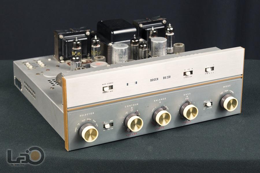 BOGEN DB230 Amplifier ◇ 真空管プリメイン・アンプ ◇2