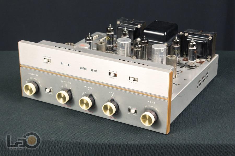 BOGEN DB230 Amplifier ◇ 真空管プリメイン・アンプ ◇3