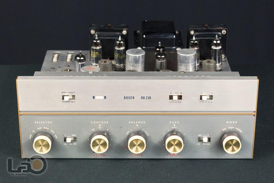 BOGEN DB230 Amplifier ◇ 真空管プリメイン・アンプ ◇4