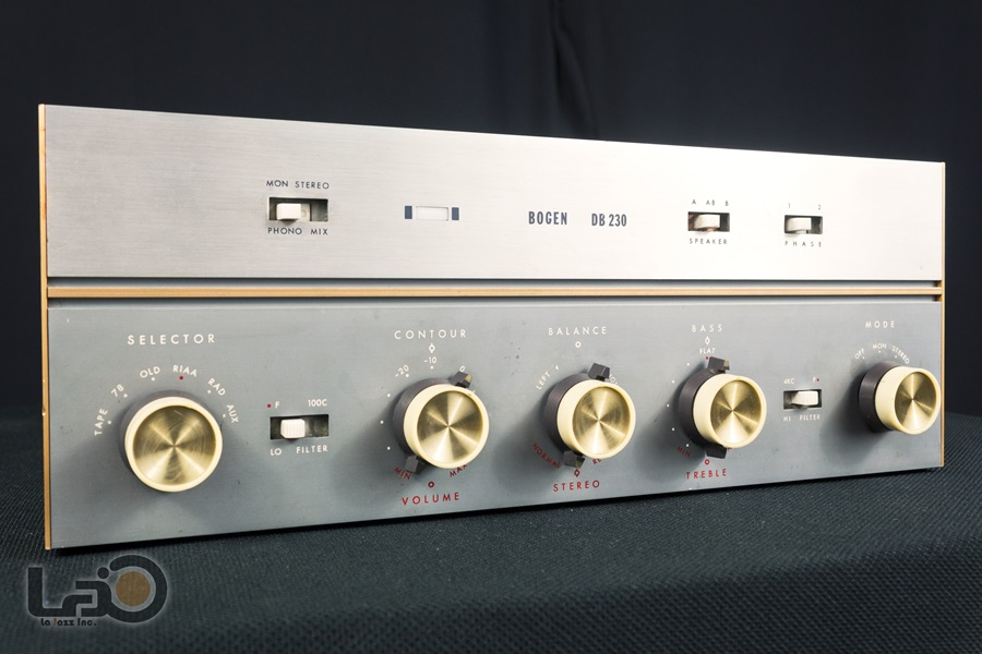 BOGEN DB230 Amplifier ◇ 真空管プリメイン・アンプ ◇5