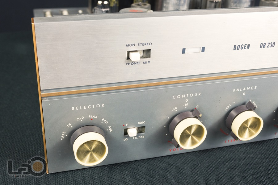 BOGEN DB230 Amplifier ◇ 真空管プリメイン・アンプ ◇6