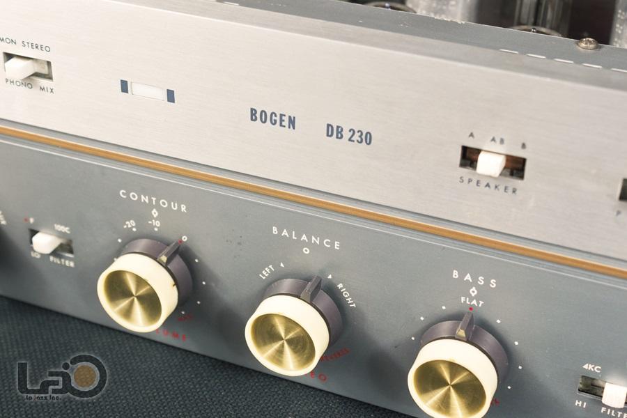 BOGEN DB230 Amplifier ◇ 真空管プリメイン・アンプ ◇7