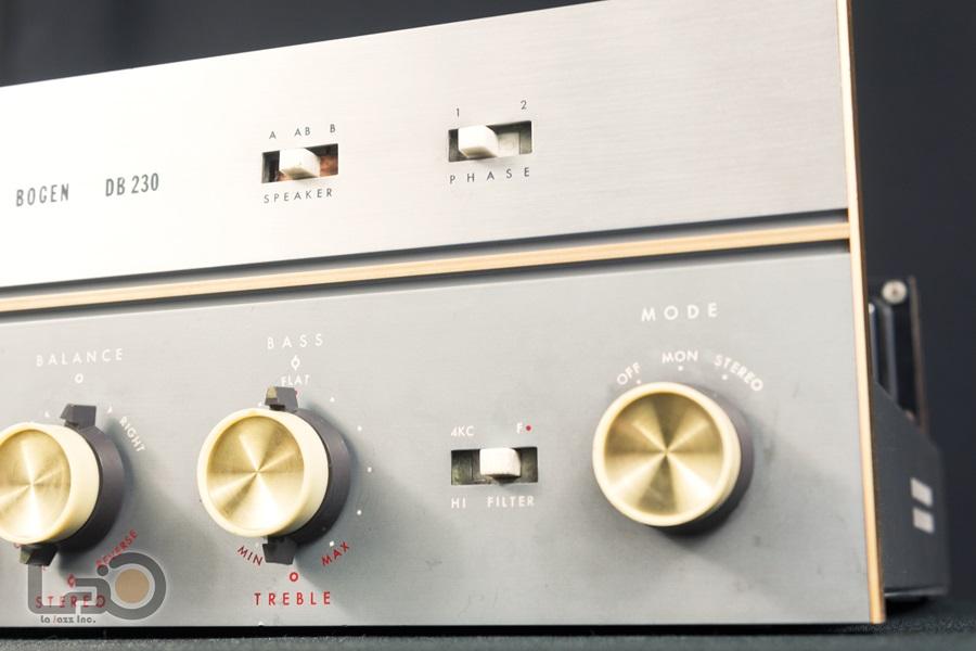 BOGEN DB230 Amplifier ◇ 真空管プリメイン・アンプ ◇8