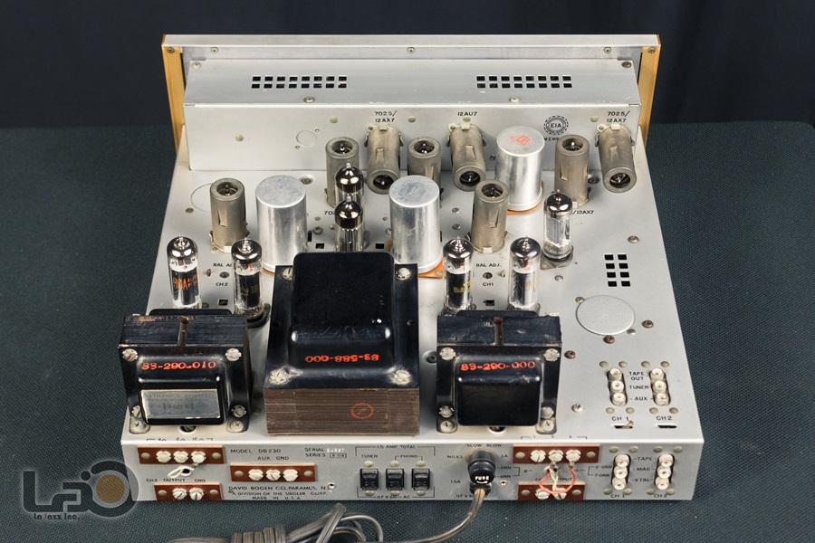 BOGEN DB230 Amplifier ◇ 真空管プリメイン・アンプ ◇9