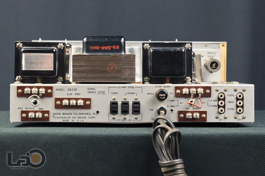 BOGEN DB230 Amplifier ◇ 真空管プリメイン・アンプ ◇10