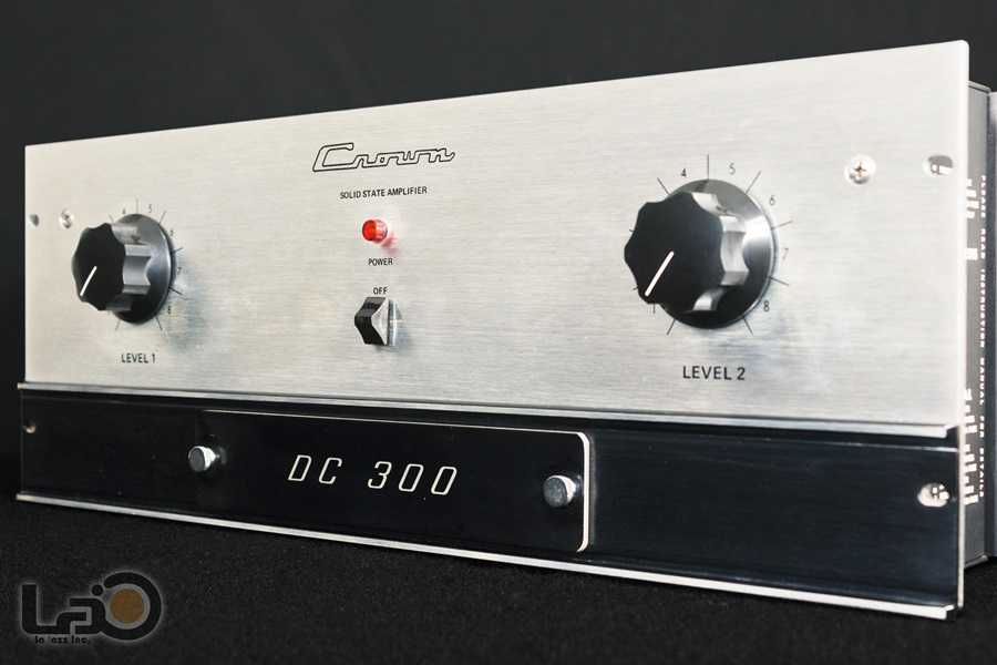 Crown DC300 Solid State Amplifier ◇ クラウン ステレオパワーアンプ  ◇