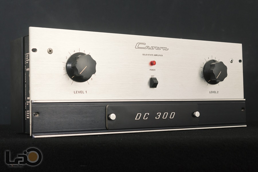Crown DC300 Solid State Amplifier ◇ クラウン ステレオパワーアンプ  ◇4
