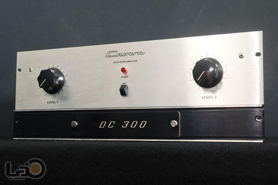 Crown DC300 Solid State Amplifier ◇ クラウン ステレオパワーアンプ  ◇5