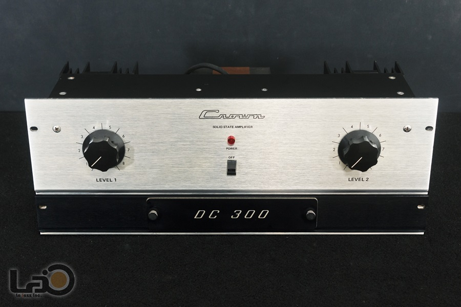 Crown DC300 Solid State Amplifier ◇ クラウン ステレオパワーアンプ  ◇6