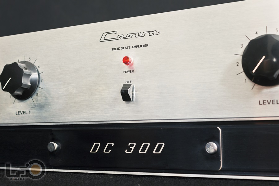 Crown DC300 Solid State Amplifier ◇ クラウン ステレオパワーアンプ  ◇7