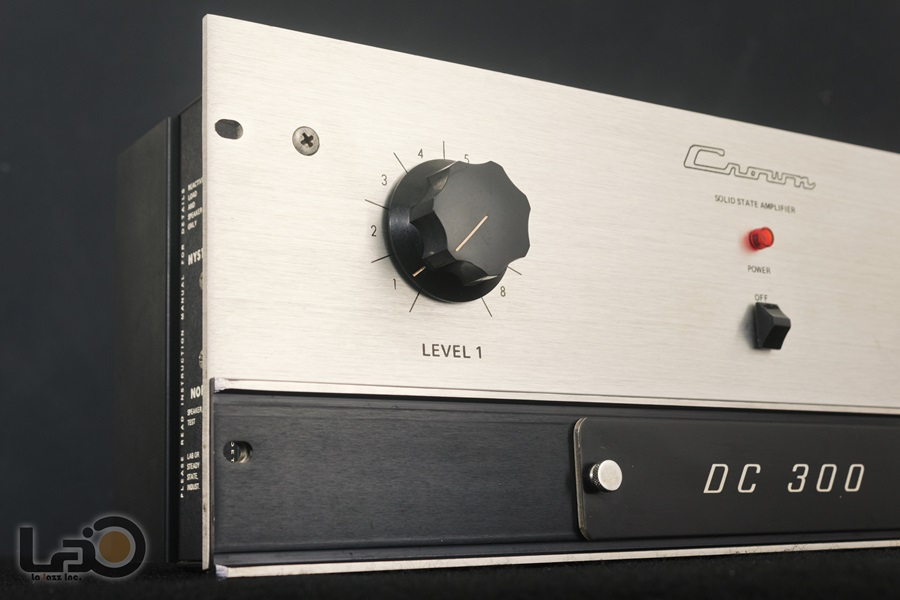 Crown DC300 Solid State Amplifier ◇ クラウン ステレオパワーアンプ  ◇8