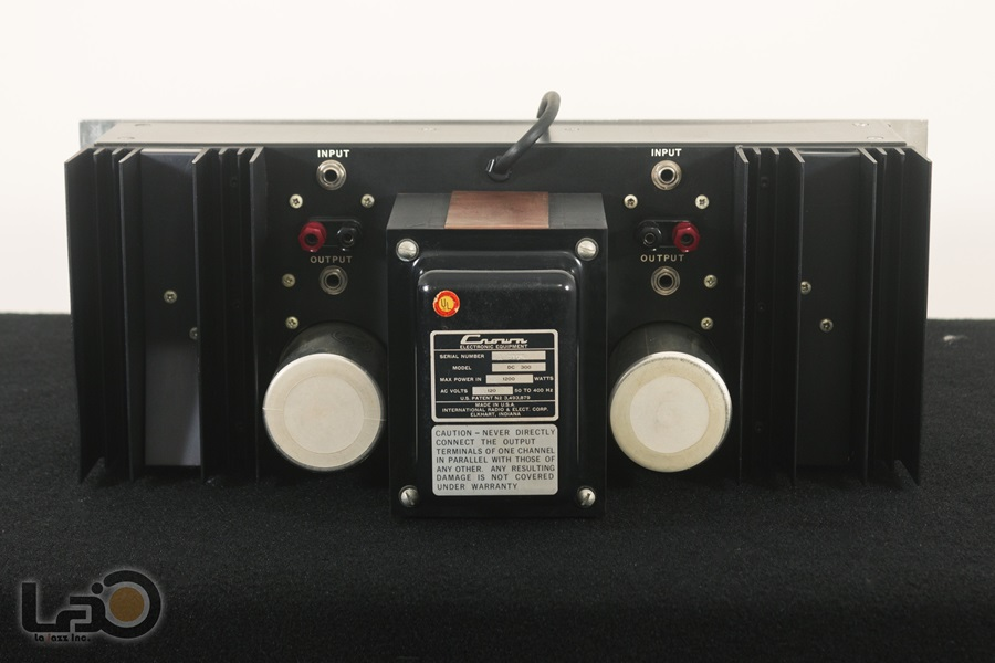 Crown DC300 Solid State Amplifier ◇ クラウン ステレオパワーアンプ  ◇12