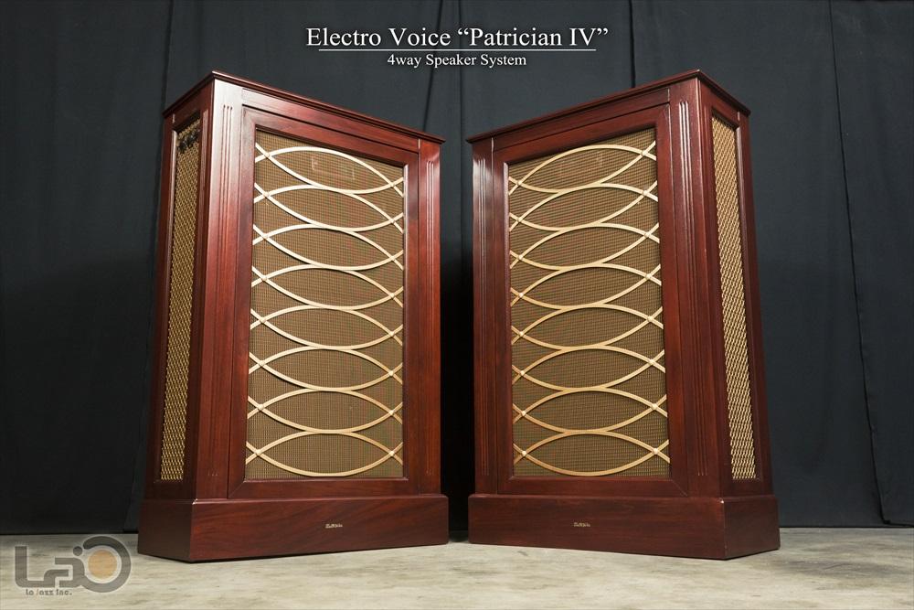 ELECTRO VOICE PATRICIAN IV ◇ エレボイ パトリシアン IV