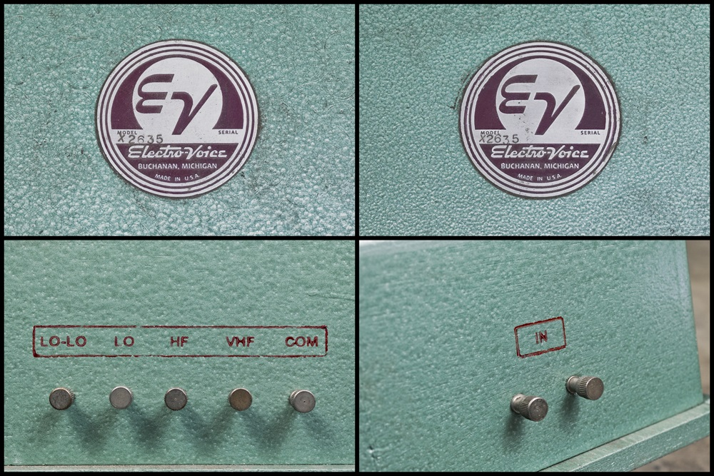 ELECTRO VOICE PATRICIAN IV ◇ エレボイ パトリシアン IV38