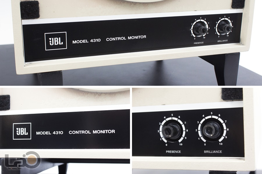JBL MODEL 4310 Control Monitor Speaker ◇ オールアルニコ・モニタースピーカー ◇12