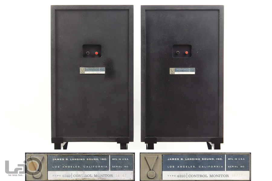 JBL MODEL 4310 Control Monitor Speaker ◇ オールアルニコ・モニタースピーカー ◇16