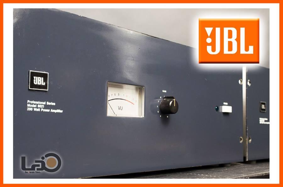 JBL MODEL 6021 ◇ パワーアンプ モノラルx2 ◇