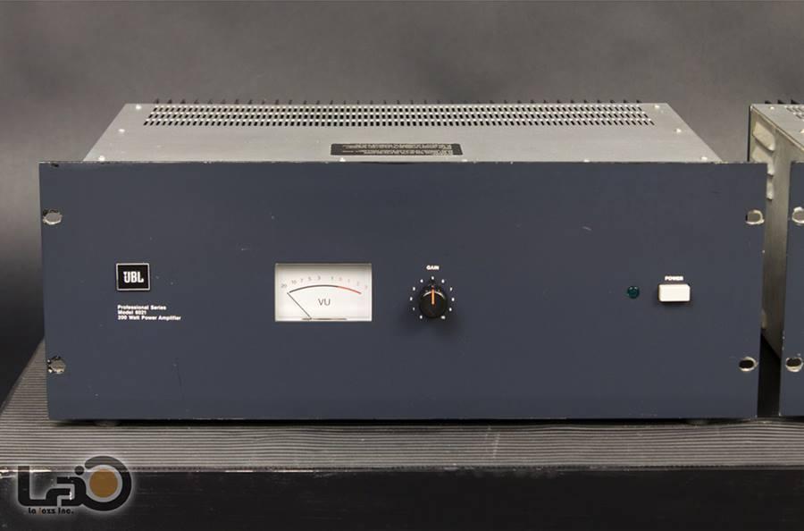 JBL MODEL 6021 ◇ パワーアンプ モノラルx2 ◇6