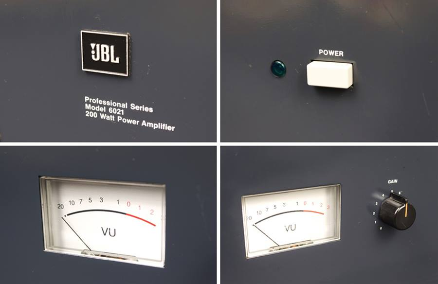JBL MODEL 6021 ◇ パワーアンプ モノラルx2 ◇9