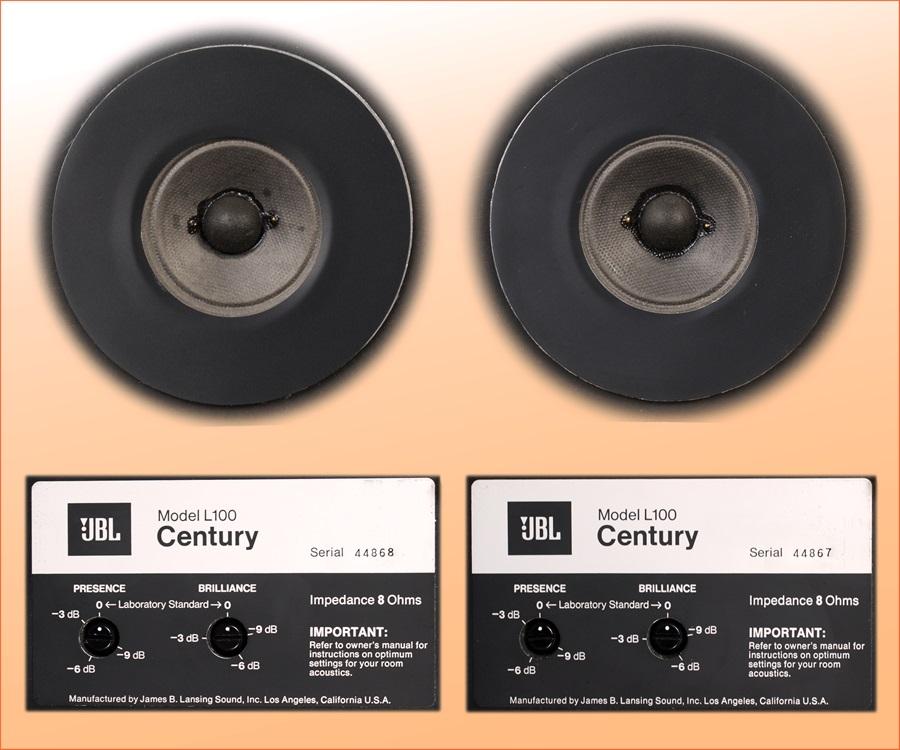 JBL L100 CENTURY ◇ センチュリー 最初期連番モデル / JBL元箱付き ◇19