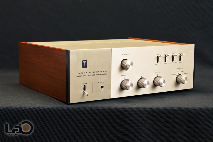 JBL SA600 Solid State Amplifier ◇ トランジスタ・プリメインアンプ ◇