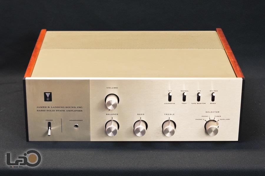 JBL SA600 Solid State Amplifier ◇ トランジスタ・プリメインアンプ ◇3