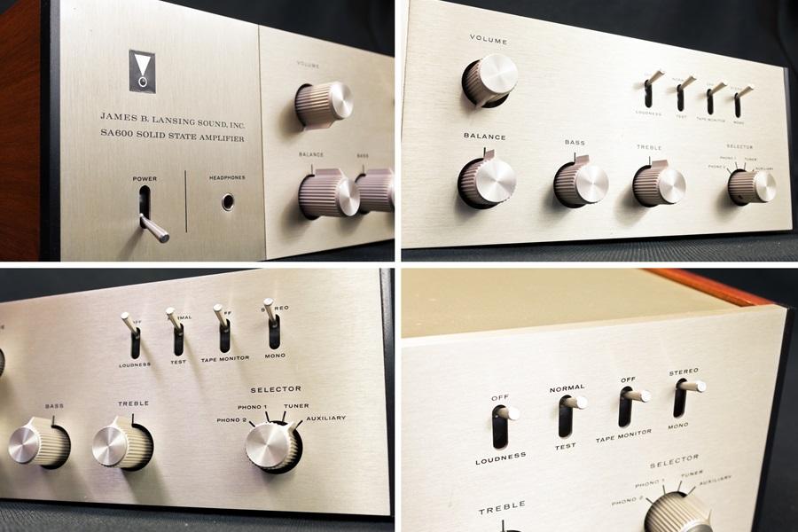 JBL SA600 Solid State Amplifier ◇ トランジスタ・プリメインアンプ ◇4
