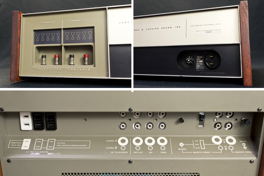 JBL SA600 Solid State Amplifier ◇ トランジスタ・プリメインアンプ ◇9