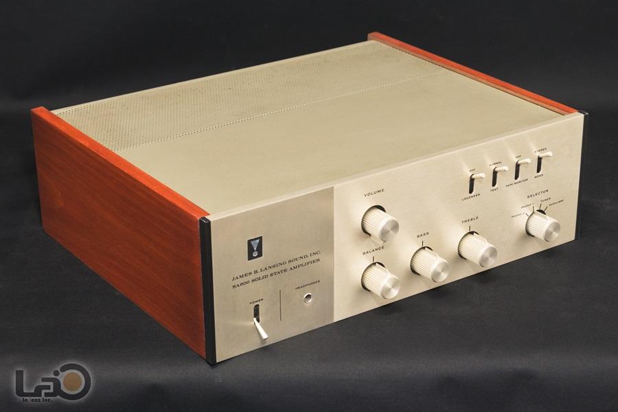JBL SA600 Solid State Amplifier ◇ ステレオ・プリメインアンプ S/N:4462◇3