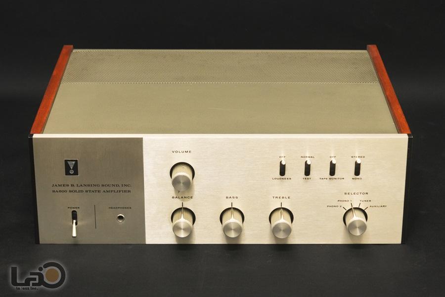 JBL SA600 Solid State Amplifier ◇ ステレオ・プリメインアンプ S/N:4462◇4