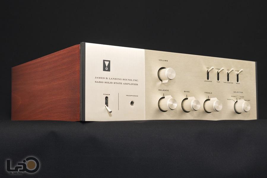 JBL SA600 Solid State Amplifier ◇ ステレオ・プリメインアンプ S/N:4462◇5