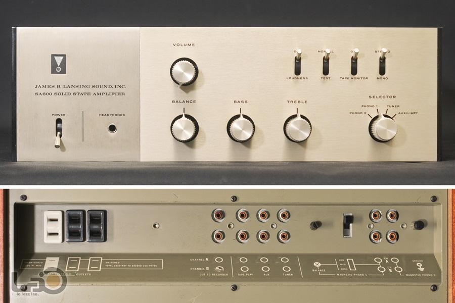 JBL SA600 Solid State Amplifier ◇ ステレオ・プリメインアンプ S/N:4462◇9