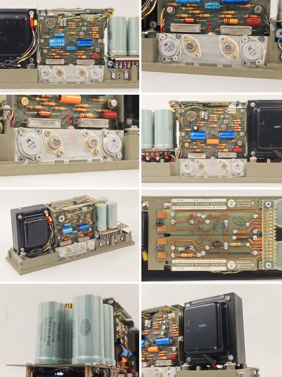 JBL SE408S Transducer Energizer ◇ トランジスタ・パワーアンプ (専用ケース付き) ◇12