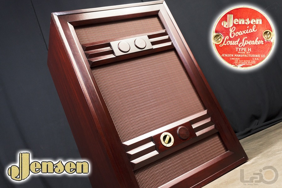 "JENSEN Type ""M"" Reproducer Cabinet + Type H HNP-51 ◇ ジェンセン キャビネット + 同軸2WAY SPEAKER ◇"