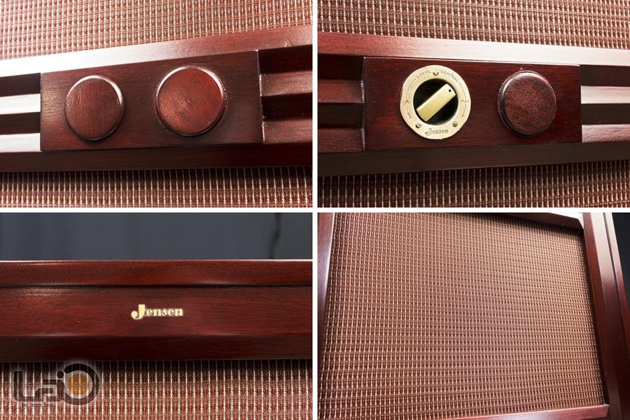 "JENSEN Type ""M"" Reproducer Cabinet + Type H HNP-51 ◇ ジェンセン キャビネット + 同軸2WAY SPEAKER ◇10"
