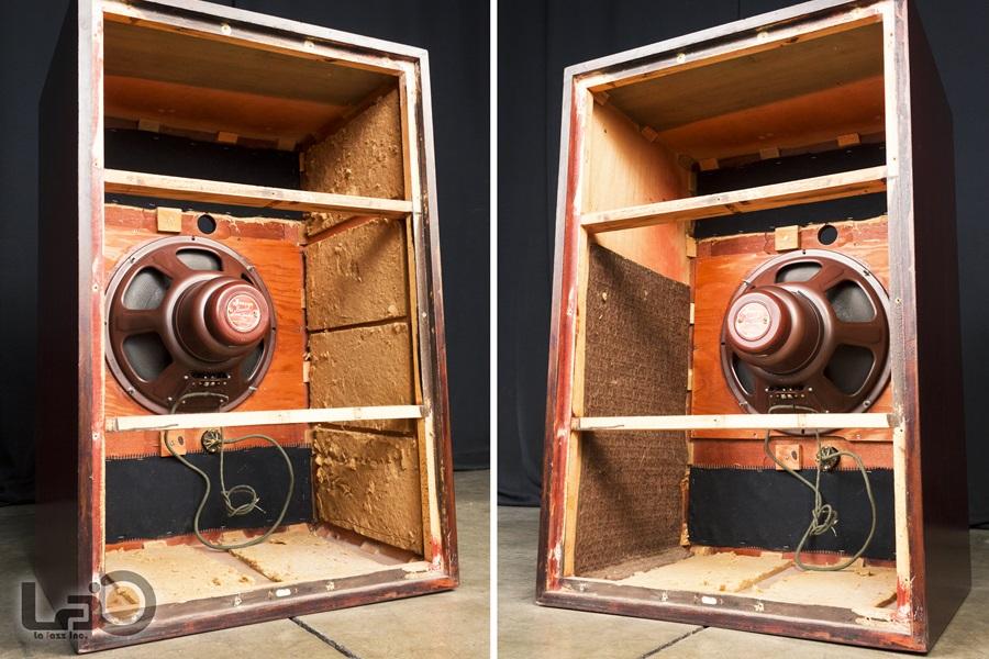 "JENSEN Type ""M"" Reproducer Cabinet + Type H HNP-51 ◇ ジェンセン キャビネット + 同軸2WAY SPEAKER ◇15"