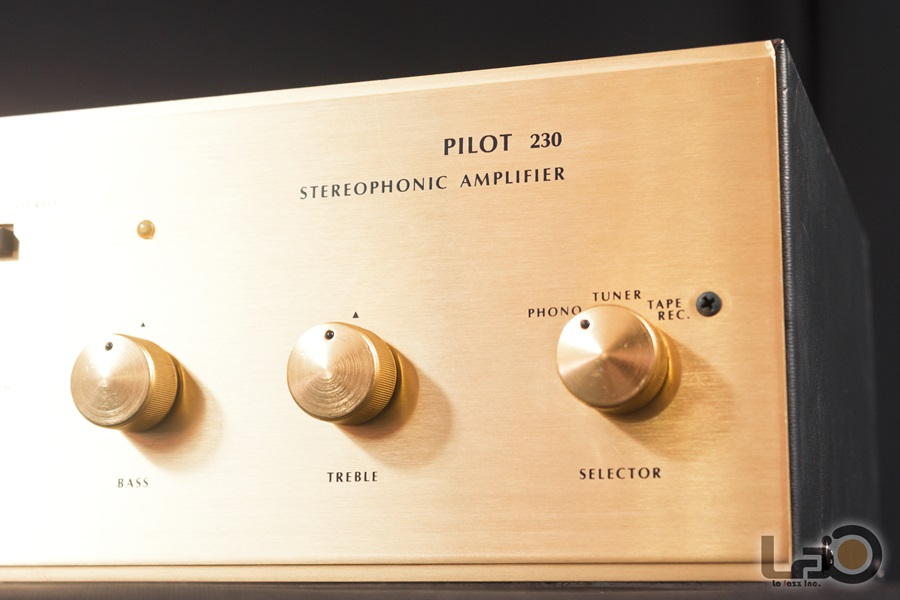 Pilot 230 Stereophonic Amplifier ◇ ステレオ真空管プリメインアンプ  ◇9