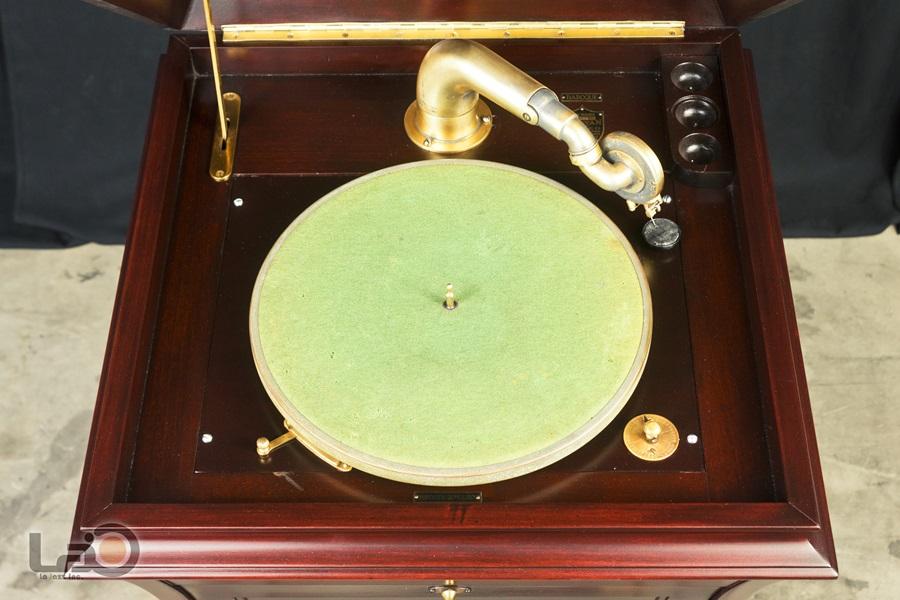- PURITAN – PHONOGRAPH ◇ ピューリタン 1917年製SPレコード用蓄音器 ◇6