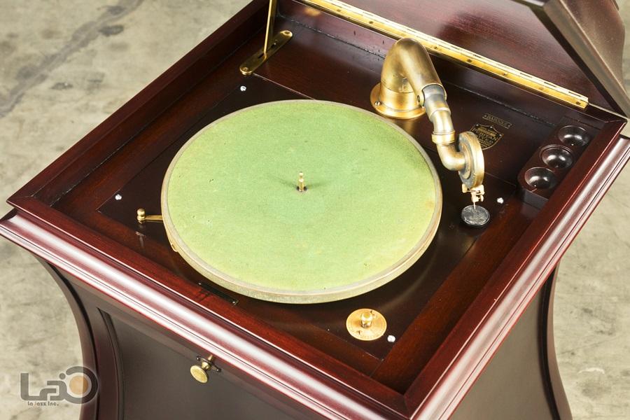 - PURITAN – PHONOGRAPH ◇ ピューリタン 1917年製SPレコード用蓄音器 ◇8