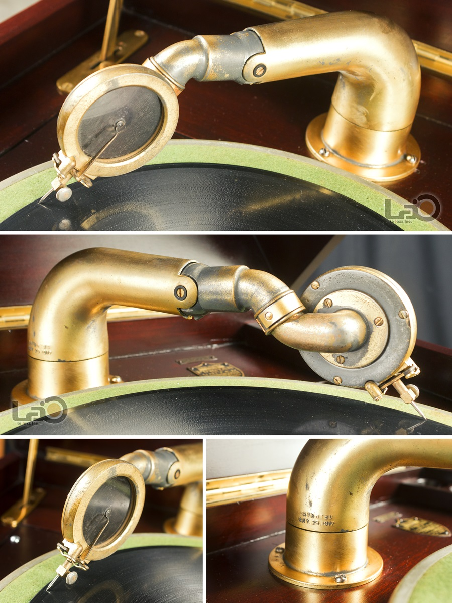 - PURITAN – PHONOGRAPH ◇ ピューリタン 1917年製SPレコード用蓄音器 ◇11