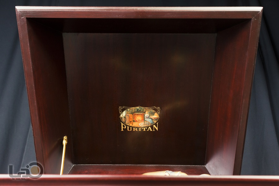- PURITAN – PHONOGRAPH ◇ ピューリタン 1917年製SPレコード用蓄音器 ◇12
