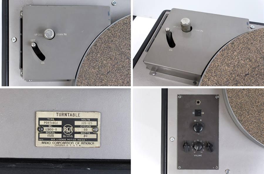 RCA MI-12800-B ◇ 局用ターンテーブル ◇7