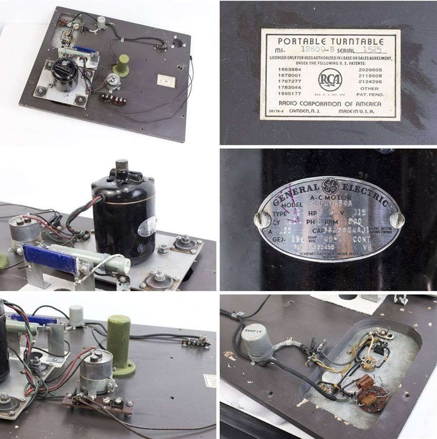 RCA MI-12800-B ◇ 局用ターンテーブル ◇11