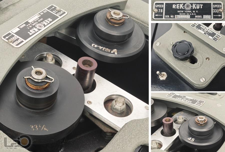 REK-O-KUT Model V Turntable ◇ アイドラー・ドライブ・ターンテーブル 33/45回転 ◇13