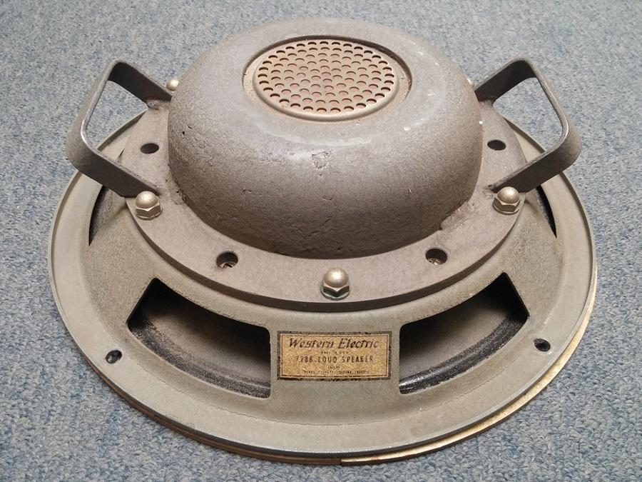 Western Electric 728B Speaker ◇ ウェスタン・エレクトリック フルレンジユニット ◇