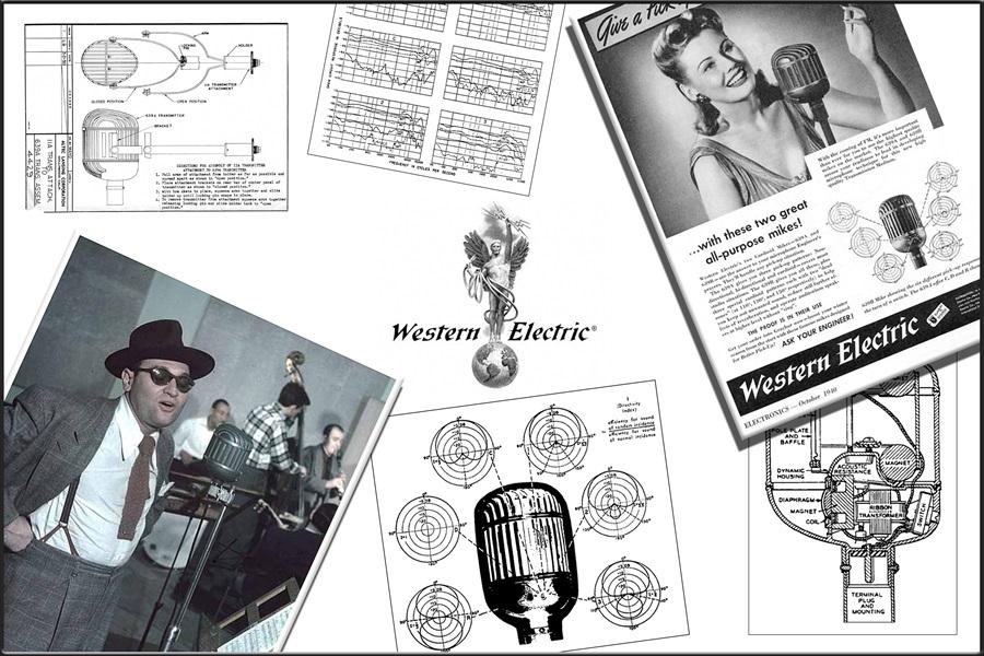 Western Electric 639A ◇ ウェスタン・エレクトリック 639A 「鉄仮面」 リボンマイク ◇10
