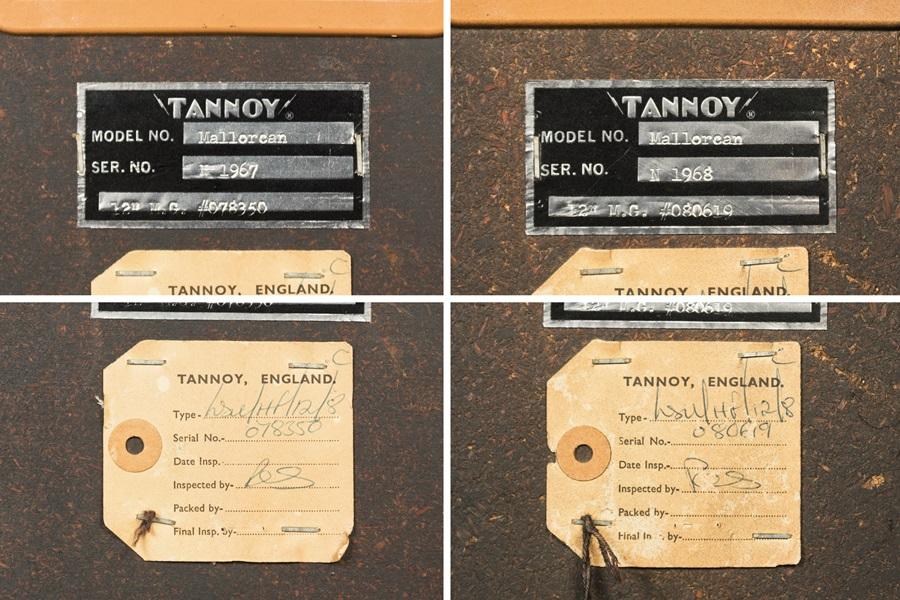 TANNOY MALLORCAN ◇ タンノイ・マヨルカン 同軸2ウェイ ◇11